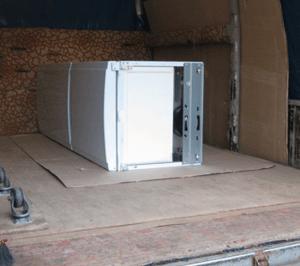 как перевозить холодильник на боку
